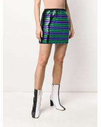 Minifalda Disco con lentejuelas Marc Jacobs de color Black