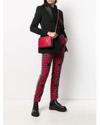 Lancaster Red 'Parisienne' Schultertasche