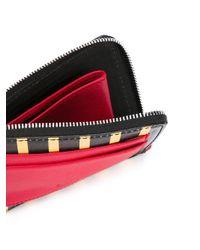 AMI Black Wallet for men