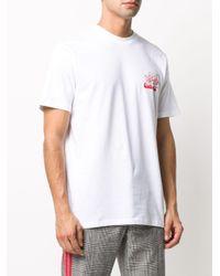 メンズ Carhartt WIP ロゴ Tシャツ White