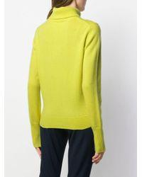 Roll neck jumper di Joseph in Yellow