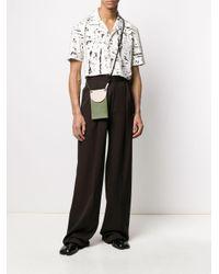 Рубашка С Принтом Тай-дай Bottega Veneta для него, цвет: Multicolor
