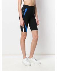 No Ka 'oi Black Shorts mit Streifen