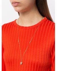 Ileana Makri - Metallic Medium Belle Cord Necklace - Lyst