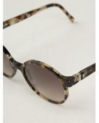 Mykita Brown 'suse' Sunglasses