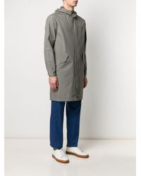 Chubasquero con capucha Herno de hombre de color Gray