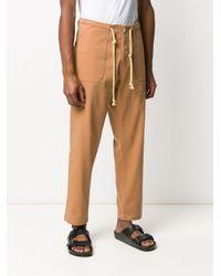 Pantaloni a gamba ampia di Nanushka in Brown da Uomo