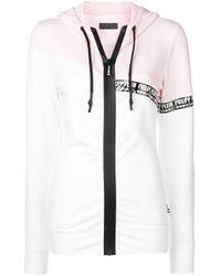 Толстовка С Капюшоном И Логотипом Philipp Plein, цвет: White