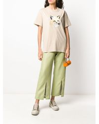 Maison Kitsuné フォックスヘッド Tシャツ Multicolor