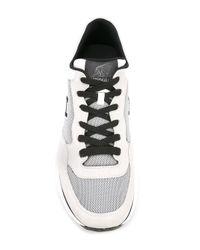 Hogan - Gray Panelled Sneakers for Men - Lyst