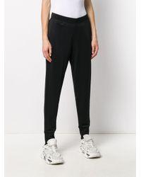 Calvin Klein テーパード トラックパンツ Black