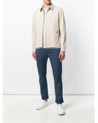 Closed Natural Zip Lightweight Jacket for men