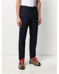 Pantalon à coupe droite Kaplan A.P.C. pour homme en coloris Blue