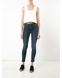Khaite Blue Classic Skinny Jeans