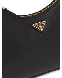 Prada Re-edition 2005 サフィアーノレザー ショルダーバッグ Black