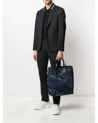 メンズ Valentino Garavani カモフラージュ ハンドバッグ Black