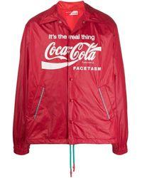 メンズ Facetasm X Coca Cola ジャケット Red