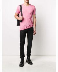 メンズ Avant Toi ラウンドネック Tシャツ Pink