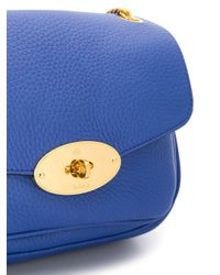 Mulberry Darley ショルダーバッグ S Blue
