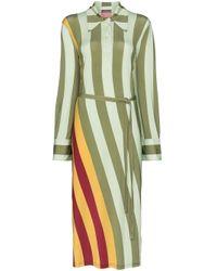 J.W. Anderson ストライプ ポロドレス Multicolor