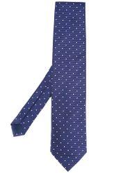 Pal Zileri | Blue Printed Dots Tie for Men | Lyst