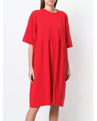 Sofie D'Hoore Red Casual Day Dress