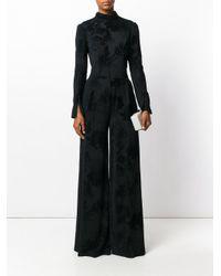 Talbot Runhof Black Ninos Dress