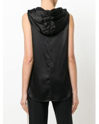 Dorothee Schumacher - Black Hooded Blouse - Lyst