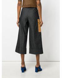 Marco De Vincenzo Black Side Pocket Culottes