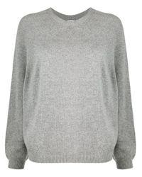 Peserico クルーネック スウェットシャツ Gray