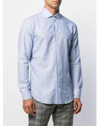 Chemise à rayures Etro pour homme en coloris Blue