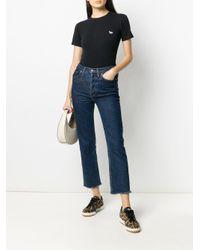 Maison Kitsuné フォックスモチーフ Tシャツ Black