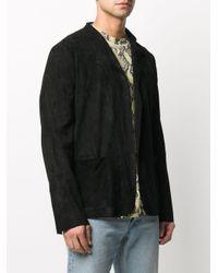メンズ Salvatore Santoro シングルジャケット Black