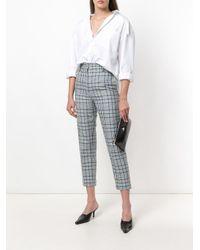 Vivienne Westwood - Black Top Zip Logo Clutch - Lyst