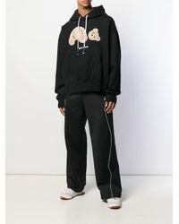 メンズ Palm Angels テディベア スウェットシャツ Black
