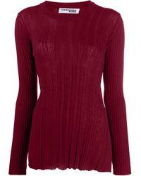 Maglione a girocollo di Courreges in Red