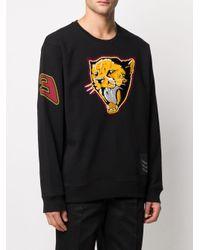 メンズ Givenchy タイガー ワッペン スウェットシャツ Black