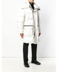 Abrigo acolchado oversize Tom Ford de hombre de color White