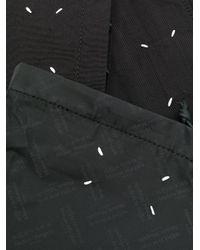 Maison Margiela Black Three-piece Contrast Pouch for men