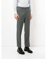 Pantalon skinny Gieves & Hawkes pour homme en coloris Gray