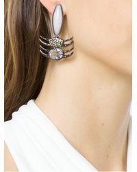 Camila Klein - Metallic Oval Earrings - Lyst