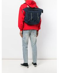Ally Capellino - Blue Frank Waxy Backpack for Men - Lyst