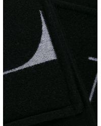 Sciarpa VLTN con tasche di Valentino in Black