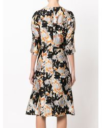 Marni Black Patterned Dress