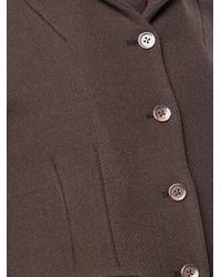 Cherevichkiotvichki Brown Fitted Coat