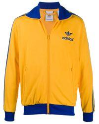メンズ Adidas Adicolor 70s ジップ ジャケット Yellow