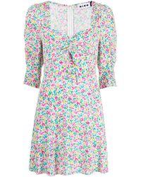 Платье Мини Larissa С Цветочным Принтом Rixo, цвет: Multicolor