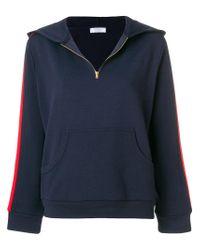 Roseanna Blue Hooded Sweatshirt