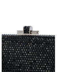 Judith Leiber Black Slide Lock Bag