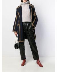 Chloé オーバーサイズ コート Blue